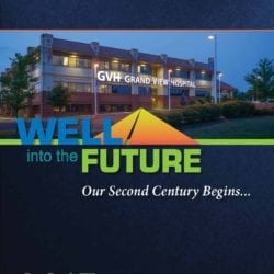 """""""Well into the Future Our Second Century Begins..."""" 2013 Annual Report cover."""