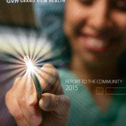 2015 Report to the Community cover.